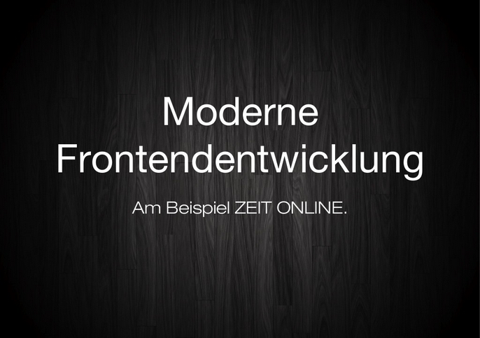 "Mein Talk beim ""Holtzbrinck Technology Day"""