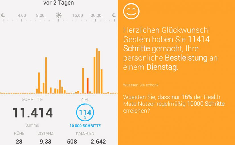 Lifetracking, kann ich