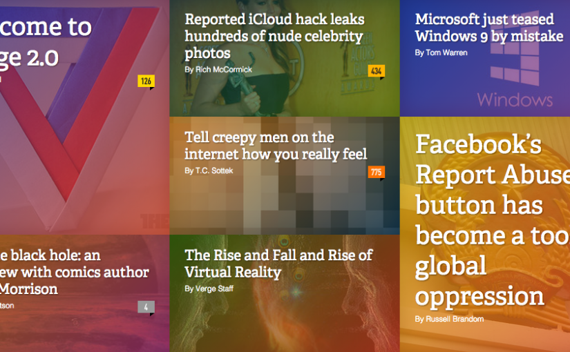 The Verge fully responsive